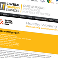 Central Training Services Site