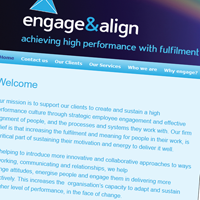 Engage and Align Website