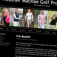 Heather Macrae Website